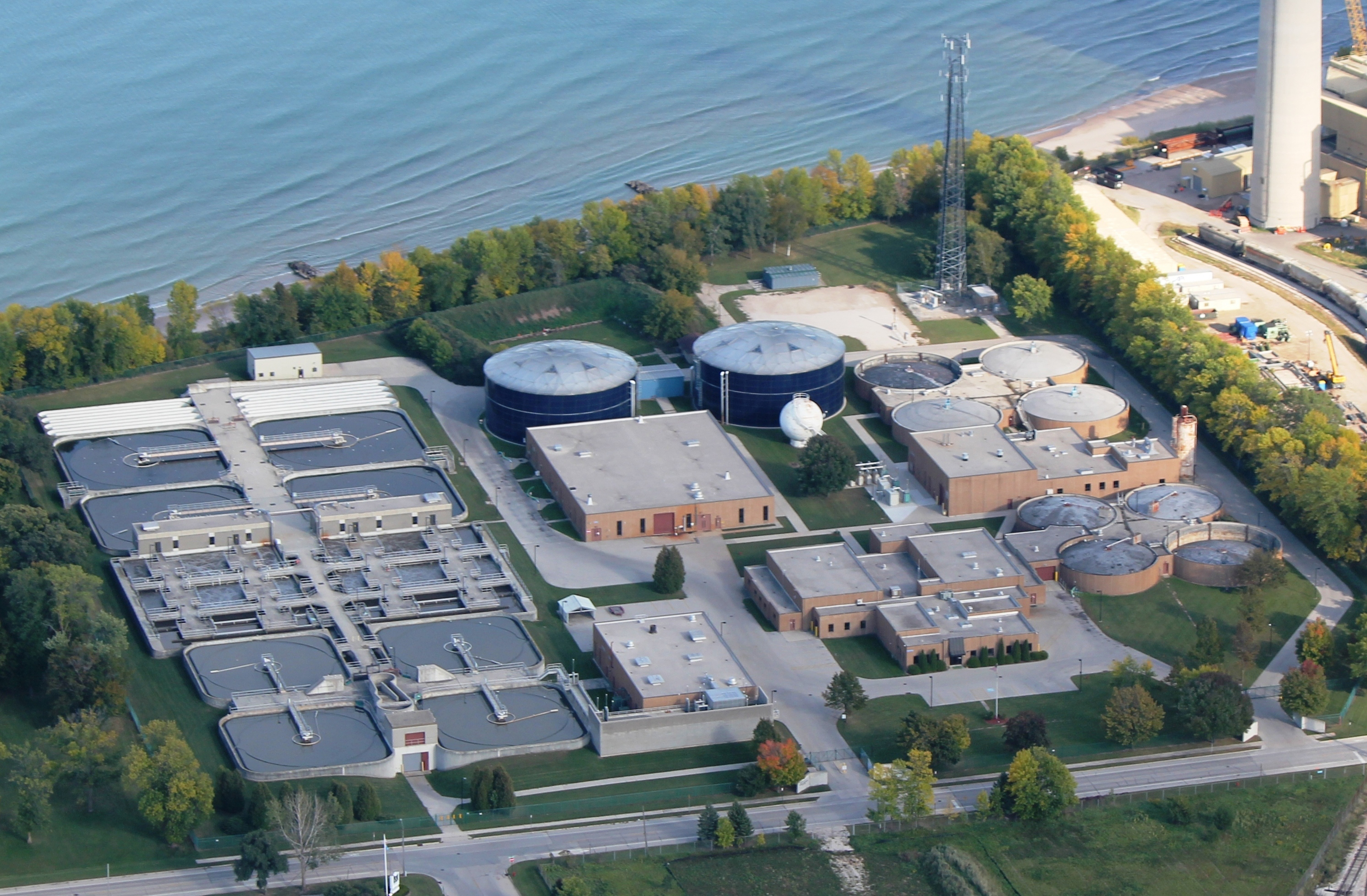 Sheboygan Wastewater Treatment Plant Keeps Lubricant Clean